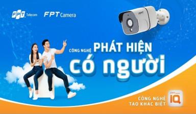 FPT Telecom ra mắt FPT Camera IQ với tính năng nhận diện thông minh, phát hiện có người